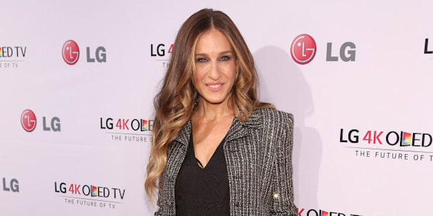 NEW YORK, NY - SEPTEMBER 17:  Actress Sarah Jessica Parker attends the 2014 Art Of The Pixel Gala at Gotham Hall on September 17, 2014 in New York City.  (Photo by Taylor Hill/Getty Images)