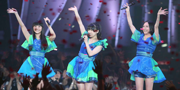 CHIBA, JAPAN - JUNE 23:  perfume performs onstage during the MTV Video Music Awards Japan 2012 at Makuhari Messe on June 23, 2012 in Chiba, Japan.  (Photo by Ken Ishii/Getty Images)