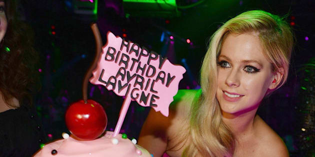 LAS VEGAS, NV - SEPTEMBER 28: (EXCLUSIVE COVERAGE) Avril Levigne celebrates her 30th birthday at the Bank Nightclub in the Bellagio Hotel and Casino on September 28, 2014 in Las Vegas, Nevada.  (Photo by Denise Truscello/WireImage)