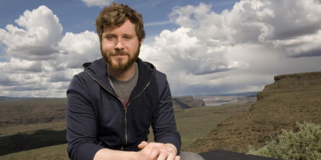 GEORGE, WA - MAY 28: Dan Mangan poses for portraits at the Sasquatch! Music Festival at the Gorge Amphitheater on May 28, 2011 in George, Washington. (Photo by Steven Dewall/Redferns)