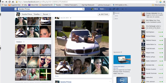 "This image obtained by The Associated Press shows a Facebook page for ""Sondra Prince."" The Justice Department said Tuesday it is reviewing a woman's complaint that a Drug Enforcement Administration agent set up a fake Facebook account using her identity. Sondra Arquiett, who was arrested on drug charges 2010 for her role in a suspected drug distribution network, is suing the agent in federal court in the Northern District, in upstate New York. The case is scheduled go to trial in Albany, New York. The Justice Department is also investigating the practice of making a fake profile.  (AP Photo)"