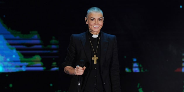 MILAN, ITALY - OCTOBER 05:  Sinead O'Connor attends 'Che Tempo Che Fa' Italian Tv Show on October 5, 2014 in Milan, Italy.  (Photo by Stefania D'Alessandro/Getty Images)