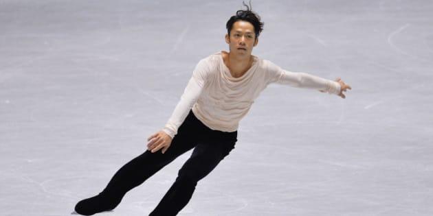 TOKYO, JAPAN - NOVEMBER 09:  Daisuke  Takahashi of Japan competes in the men's free program during day two of ISU Grand Prix of Figure Skating 2013/2014 NHK Trophy at Yoyogi National Gymnasium on November 9, 2013 in Tokyo, Japan.  (Photo by Koki Nagahama/Getty Images)