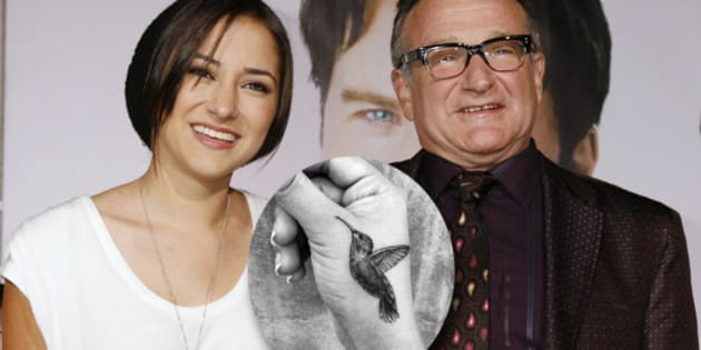 Photo Zelda Williams Devoile Un Tatouage En Hommage A Robin