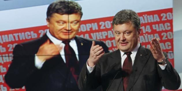 ウクライナ議会選挙、親欧米派が...