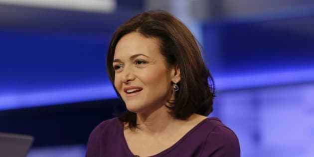CORRECTS SPELLING TO SANDBERG NOT SANDBURG  Sheryl Sandberg, chief operating officer of Facebook, responds to questions during a news interview with Megyn Kelly on the show, The Kelly File, on the FOX News Channel, Wednesday, April 9, 2014, in New York. (AP Photo/Frank Franklin II)