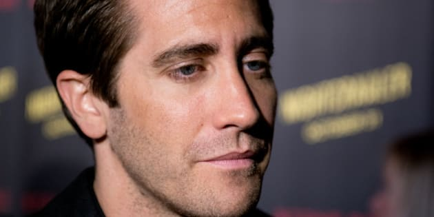 NEW YORK, NY - OCTOBER 27:  Actor Jake Gyllenhaal attends the 'Nightcrawler' New York Premiere at AMC Lincoln Square Theater on October 27, 2014 in New York City.  (Photo by Noam Galai/WireImage)