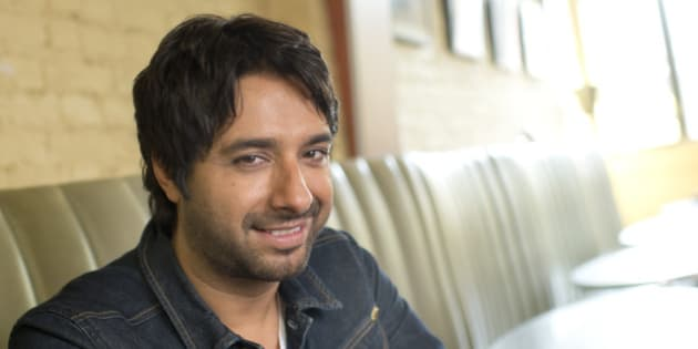 30 August 2012. Big interview with CBC star Jian Ghomeshi on the occasion of his new book about his youth and music: 1982. Photos by Keith Beaty. (Photo by Keith Beaty/Toronto Star via Getty Images)