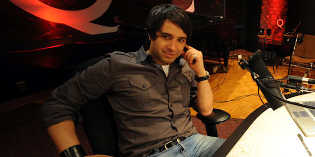 May0609RE17156131.Photos of CBC's Jian Ghomeshi at CBC in his office and in his studio as well as portrait.Note.Sunday profile.Rick Eglinton Toronto Star. (Photo by Rick Eglinton/Toronto Star via Getty Images)