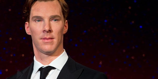 LONDON, ENGLAND - OCTOBER 21:  Madame Tussauds unveil new wax figure of Benedict Cumberbatch at Madame Tussauds on October 21, 2014 in London, England.  (Photo by Ben A. Pruchnie/Getty Images)