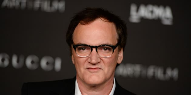 Honoree Quentin Tarantino arrives at the LACMA Art + Film Gala at LACMA on Saturday, Nov. 1, 2014, in Los Angeles. (Photo by Jordan Strauss/Invision/AP)