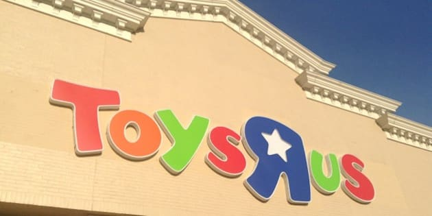 Toys R Us Store Sign Logo Facade Pics by Mike Mozart of TheToyChannel and JeepersMedia on YouTube. Toys R Us Store