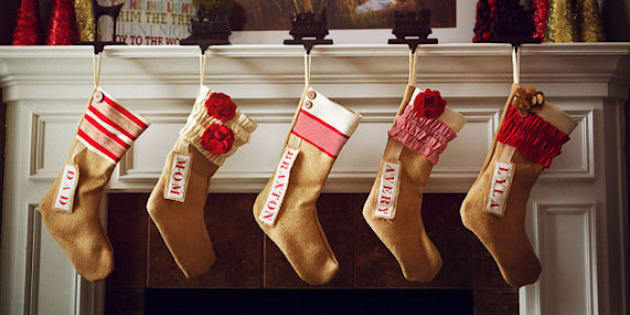 christmas stockings 30 personalized and modern ideas