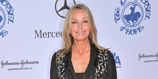 Bo Derek arriving at the 30th Anniversay Carousel Of Hope Ball benefiting the Barbara Davis Center for childhood diabetes, held at the Beverly Hilton Hotel in Beverly Hills, CA.