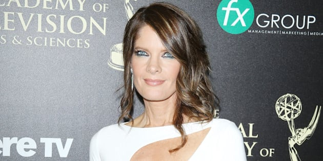 BEVERLY HILLS, CA - JUNE 22:  Michelle Stafford arrives at the 41st Annual Daytime Emmy Awards held at The Beverly Hilton Hotel on June 22, 2014 in Beverly Hills, California.  (Photo by Michael Tran/FilmMagic)