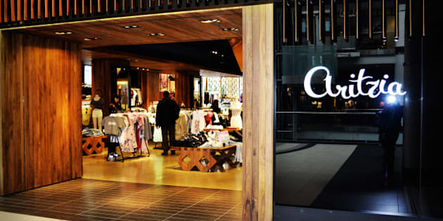 "This is a photo of the Aritzia store in downtown Toronto, Canada. If you make use of this image, please make sure you link to <a href=""http://www.bargainmoose.ca"" rel=""nofollow"">www.bargainmoose.ca</a> from your own site!"