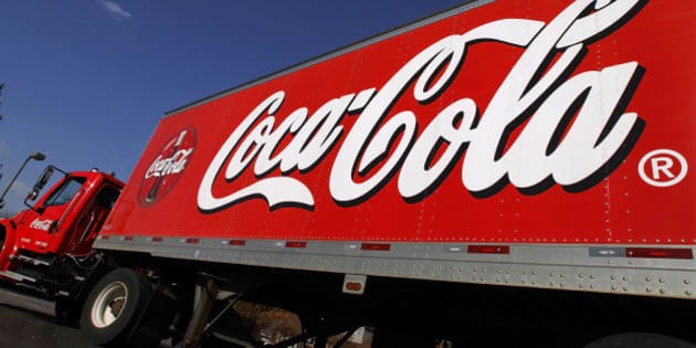 A Coca-Cola delivery truck is seen in Springfield, Ill., Wednesday, Nov. 10, 2010. (AP Photo/Seth Perlman)
