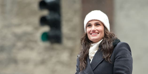 NEW YORK, NY - NOVEMBER 27:  Singer and actress Idina Menzel attends the 88th Annual Macys Thanksgiving Day Parade at  on November 27, 2014 in New York, New York.  (Photo by Noam Galai/WireImage)