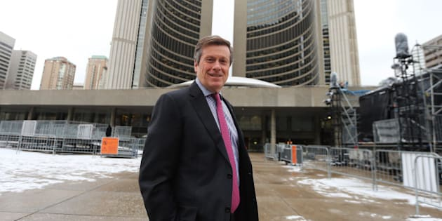 TORONTO, ON- NOVEMBER 27  -  Mayor elect John Tory at city hall talks about  divides ,political and otherwise,that exist in Toronto and what he hopes to do to overcome them. at  in Toronto,  November 27, 2014.        (Colin McConnell/Toronto Star via Getty Images)