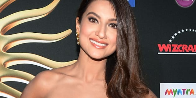 TAMPA, FL - APRIL 26:  Bollywood model and actress Gauhar Khan arrives at the IIFA Awards at Raymond James Stadium on April 26, 2014 in Tampa, Florida.  (Photo by Gustavo Caballero/Getty Images)