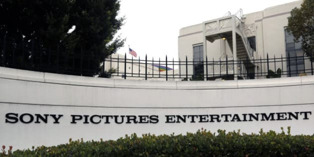 Sony Pictures Entertainment headquarters in Culver City, Calif. on Tuesday, Dec. 2, 2014. The FBI has confirmed it is investigating a recent hacking attack at Sony Pictures Entertainment, which caused major internal computer problems at the film studio last week. (AP Photo/Nick Ut)