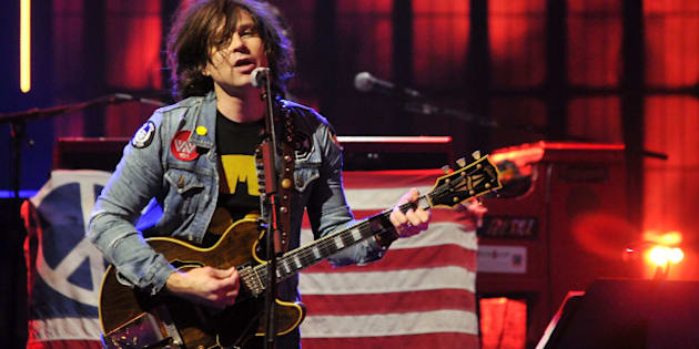 LONDON, ENGLAND - SEPTEMBER 21:  Ryan Adams performs live on stage as part of the iTunes Festival at The Roundhouse on September 21, 2014 in London, England.  (Photo by Jim Dyson/WireImage)