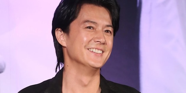 TAIPEI,CHINA - FEBRUARY 25:Japanese singer Fukuyama Masaharu attends his concert press conference on Tuesday February 25,2014 in Taipei,China.(Photo by TPG/Getty Images)