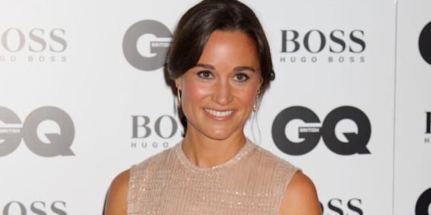 Pippa Middleton arrives for the GQ Men Of The Year Awards 2014 at a central London venue, London, Tuesday, Sept. 2, 2014. (Photo by Jonathan Short/Invision/AP)