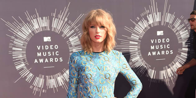 INGLEWOOD, CA - AUGUST 24:  Singer Taylor Swift attends the 2014 MTV Video Music Awards at The Forum on August 24, 2014 in Inglewood, California.  (Photo by Jason Merritt/Getty Images  for MTV)