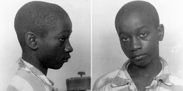 FILE - This undated file photo provided by the South Carolina Department of Archives and History shows George Stinney Jr., the youngest person ever executed in South Carolina, in 1944. Supporters of Stinney have argued that there wasn't enough evidence to find him guilty in 1944 of killing a 7-year-old and an 11-year-old girl. The final briefs in a suit asking that Stinney be granted a new trial were filed with court officials on Monday, Feb. 24, 2014. (AP Photo/South Carolina Department of Archives and History, File)