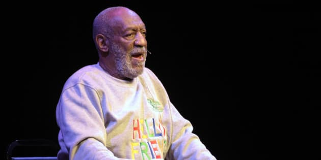 Comedian Bill Cosby performs during a show at the Maxwell C. King Center for the Performing Arts in Melbourne, Fla., Friday, Nov. 21, 2014.(AP Photo/Phelan M. Ebenhack)
