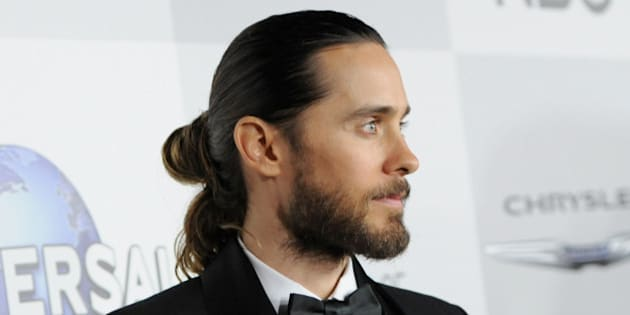 BEVERLY HILLS, CA - JANUARY 12:  Musician Jared Leto attends the Universal, NBC, Focus Features, E! sponsored by Chrysler viewing and after party with Gold Meets Golden held at The Beverly Hilton Hotel on January 12, 2014 in Beverly Hills, California.  (Photo by Angela Weiss/Getty Images for NBCUniversal)