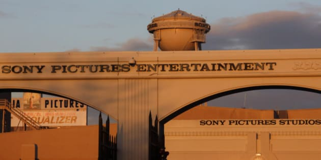Signage is displayed at the Sony Pictures Entertainment Inc. studios in Culver City, California, U.S., on Thursday, Dec. 18, 2014. If the U.S. decides to retaliate over North Koreas alleged hacking of Sony Pictures Entertainment computers, officials could target the governments financial resources, its illicit drug and counterfeiting operations or the hackers themselves. Photographer: Patrick T. Fallon/Bloomberg via Getty Images