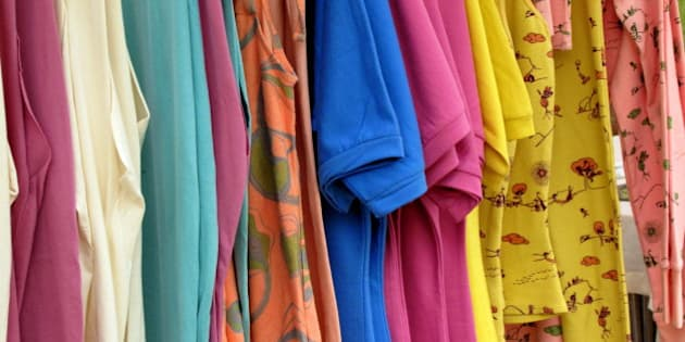 """Chat with a nice designer using fairtrade cotton and a fairtrade factory in India to produce her clothes  <a href=""""http://www.onagono.com"""">www.onagono.com</a>"""