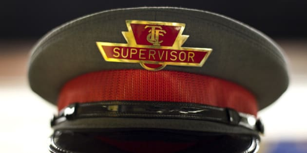 The hat of a Toronto Transit Commission (TTC) supervisor is pictured in Toronto, Ontario, Canada, on Wednesday, July 13, 2011. The Toronto Transit Commission operates the fourth most heavily used transit system in the U.S. and Canada, serving over 2.5 million passengers daily in the Toronto metropolitan area. Photographer: Brent Lewin/Bloomberg via Getty Images