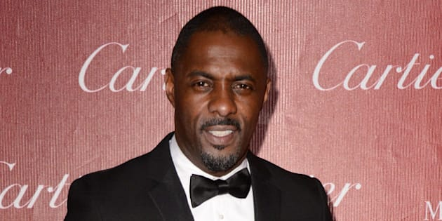 Idris Elba arrives at the Palm Springs International Film Festival Awards Gala at the Palm Springs Convention Center on Saturday, Jan. 4, 2014, in Palm Springs, Calif. (Photo by Jordan Strauss/Invision/AP)