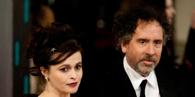 LONDON, ENGLAND - FEBRUARY 10:  Tim Burton and Helena Bonham Carter attend the EE British Academy Film Awards>> at The Royal Opera House on February 10, 2013 in London, England.  (Photo by John Phillips/UK Press via Getty Images)