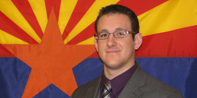 This Nov. 27, 2008 photo released by the Flagstaff Police Department, shows police officer Tyler Stewart. Officer Stewart, 24, died Saturday, Dec. 27, 2014, at Flagstaff Medical Center after he was shot by a suspect in a domestic-violence case, police said. Stewart was looking for the suspect about 1:30 p.m. in the 800 block of West Clay Street when a man identified as Robert W. Smith, 28, of Prescott, fired several shots at the officer, police said. The suspect then shot himself dead, police added. Stewart had worked at the department for less than a year, police said. (AP Photo/Flagstaff Police Department)