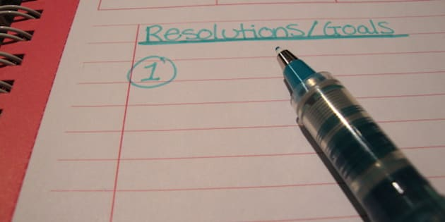 Starting the 2011 list of resolutions and goals