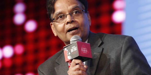 NEW DELHI, INDIA  MARCH 07: Arvind Panagariya during the India Today Conclave 2014 in New Delhi.(Photo by Pankaj Nangia/India Today Group/Getty Images)