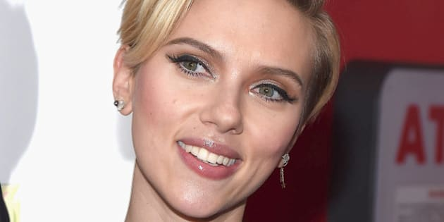 NEW YORK, NY - NOVEMBER 18:  Scarlett Johansson   attends the 2nd Annual Champions Of Rockaway Hurricane Sandy Benefit at Hudson Terrace on November 18, 2014 in New York City.  (Photo by Gary Gershoff/WireImage)