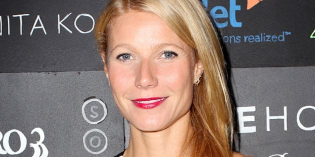 LOS ANGELES, CA - NOVEMBER 19:  Actress Gwyneth Paltrow attends imagine1day Annual Gala Honoring Tracy Anderson at SLS Hotel at Beverly Hills on November 19, 2014 in Los Angeles, California.  (Photo by Rachel Murray/Getty Images for imagine1Day)
