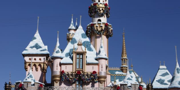 The Magic Castle stands at Walt Disney Co.'s Disneyland Park, part of the Disneyland Resort, in Anaheim, California, U.S., on Wednesday, Nov. 6, 2013. The Walt Disney Co. is scheduled to release earnings figures on Nov. 7. Photographer: Patrick Fallon/Bloomberg via Getty Images