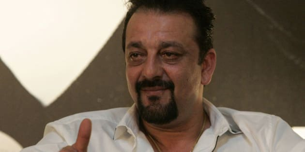 """FILE - In this June 5, 2010 file photo, Indian Bollywood actor Sanjay Dutt speaks during a press conference promoting his new Bollywood film """"Knock Out"""" at the International Indian Film Academy awards event in Colombo, Sri Lanka. India's Supreme Court gave Dutt more time to finish films before he goes to prison for a 1993 weapons conviction linked to a deadly terror attack. Dutt had appealed to the court that he needed six months to complete his pending film commitments. He was supposed to surrender Thursday, and the court Wednesday, April 17, 2013 ordered the deadline extended by four weeks. (AP Photo/Chamila Karunarathne, File)"""