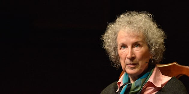 CAMBRIDGE, MA - MAY 01:  Canadian Author Margaret Atwood receives the 2014 Harvard Arts Medal at Harvard University on May 1, 2014 in Cambridge, Massachusetts.  (Photo by Paul Marotta/Getty Images)