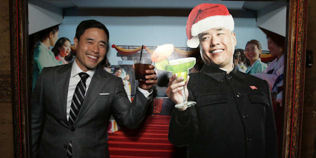 "Randall Park seen at Columbia Pictures World Premiere of ""The Interview"" on Thursday, Dec 11, 2014, in Los Angeles. (Photo by Eric Charbonneau/Invision for Sony Pictures/AP Images)"