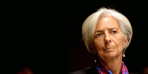 MILAN, ITALY - DECEMBER 09:  Christine Lagarde, managing director of International Monetary Fund (IMF) attends the Bocconi University's opening of the 2014/2015 academic year on December 9, 2014 in Milan, Italy.  (Photo by Pier Marco Tacca/Getty Images)