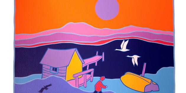painter ted harrison dead in victoria b c at age 88 huffpost canada