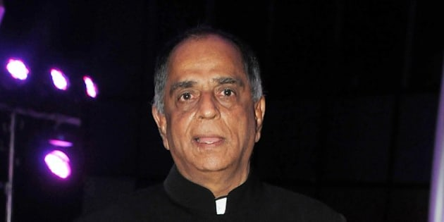 Indian Bollywood film producer and Censor Board chairperson Pahlaj Nihalani attends the wedding reception of Kussh Sinha, son of Bollywood veteran actor Shatrughan Sinha, and Taruna Agarwal in Mumbai on January 19, 2015. AFP PHOTO/STR        (Photo credit should read STRDEL/AFP/Getty Images)