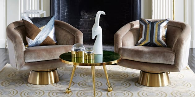 Home Decor Trends Of 2015: Shades Of Gold, Mixing Metallics